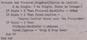 The DragMode Property Visual Basic Assignment Help, VB & VB