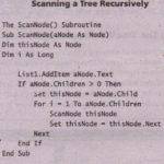 Recursive Scanning